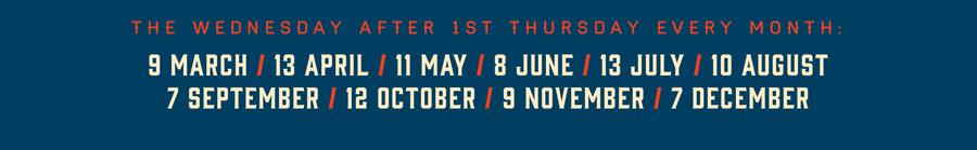 TTV-dates